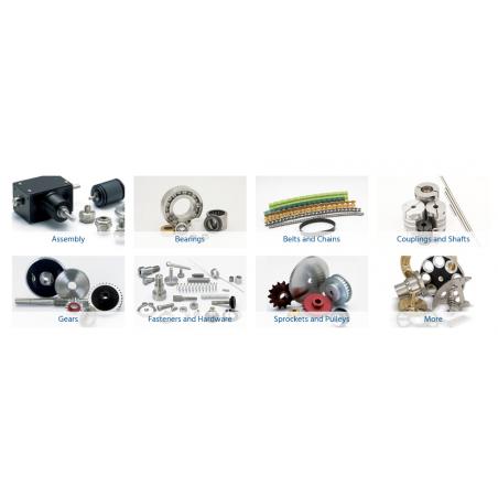 Courroies, glissières, accouplements, roues dentelées...et bien d'autres produits disponibles.