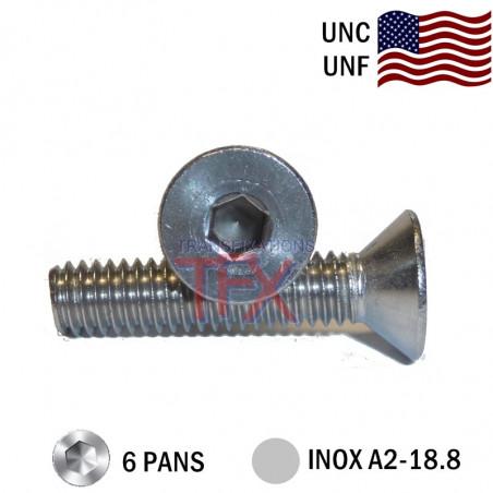 VIS-FHC-UNC-UNF-INOX-A2