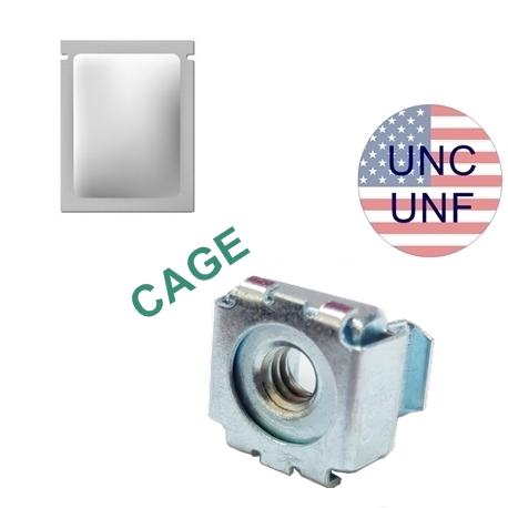 ECROU AMERICAIN CAGE UNF UNC